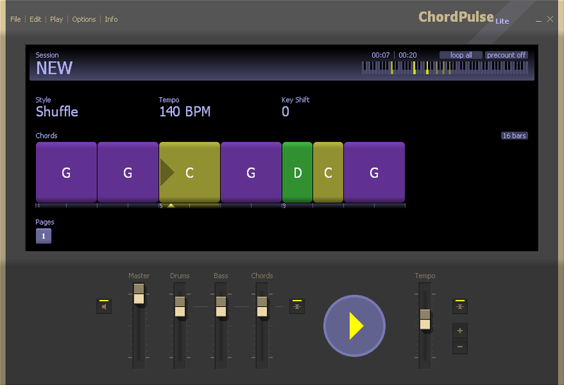 Click to view ChordPulse Lite screenshots