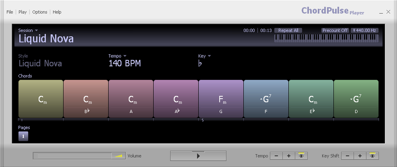 ChordPulse Player screenshot