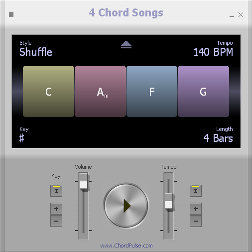 4 Chord Songs screenshot